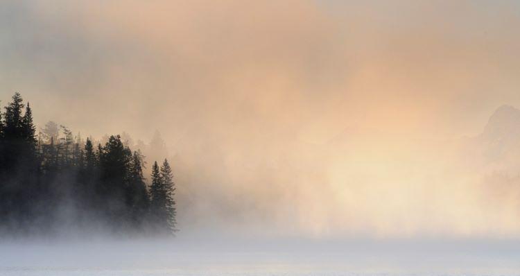 MIsty Sunrise Patricia Lake