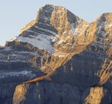 Mount Ruddle from Johnson Lake Sunrise 2