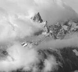 Grand Teton in Cloud