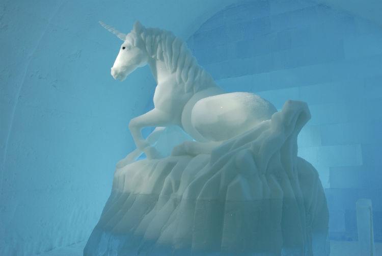 Unicorn in Ice