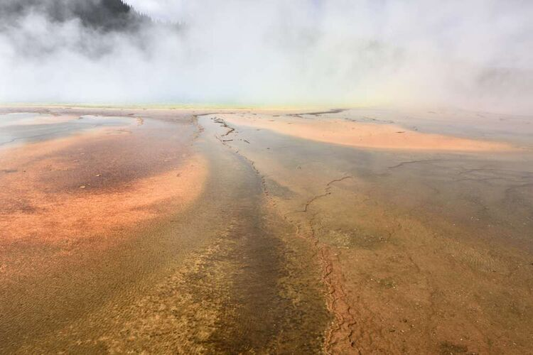 Grand Prismatic Lines to the Pool
