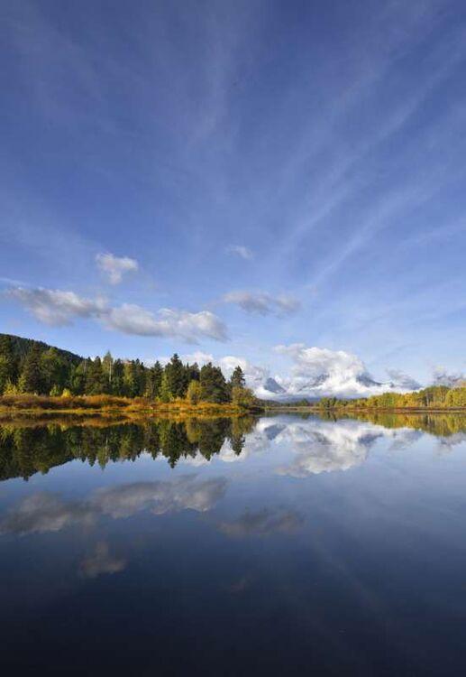 Mount Moran Reflection