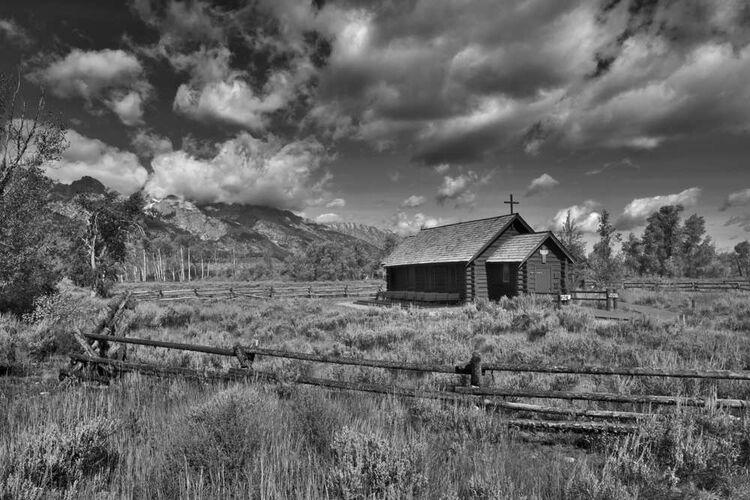 Teton Church Mono