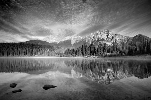 Patricia Lake skyscape