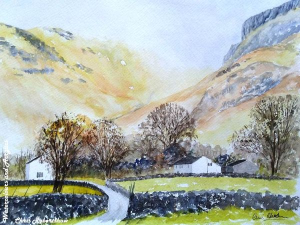 A Winter's Day in Borrowdale