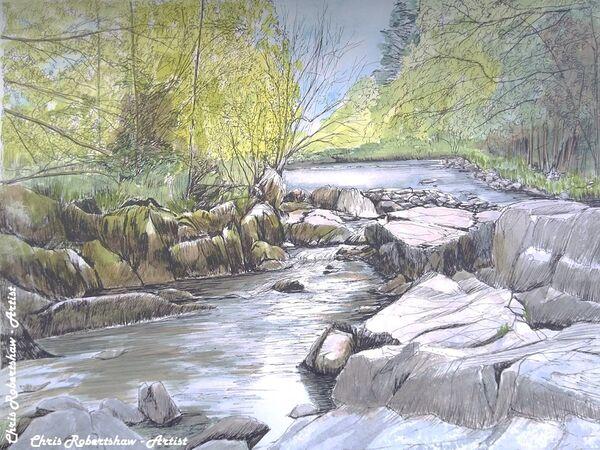Afon Llugwy near Betws-y-Coed