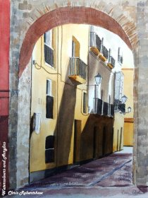 Archway in Cadiz