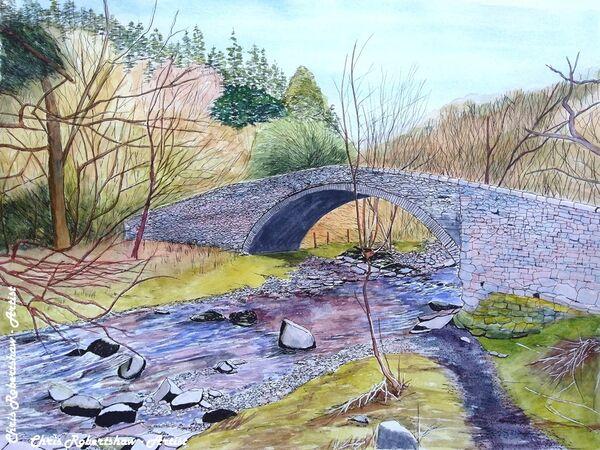 Bridge near Aber Falls