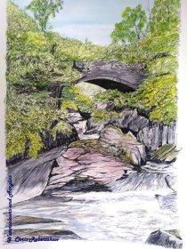 Pont Cyfyng, Capel Curig