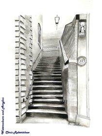 Stockport  Steps (pen & ink)