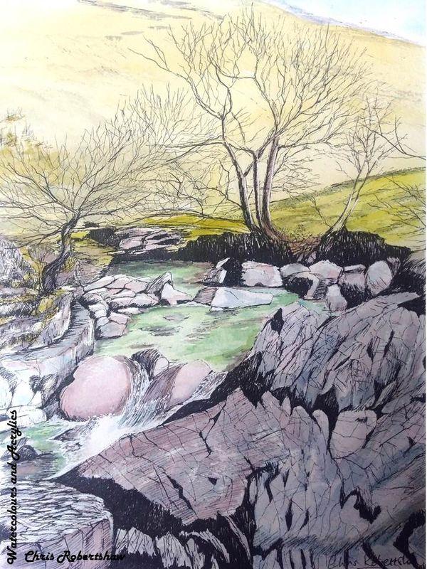 Stonethwaite Beck, Borrowdale