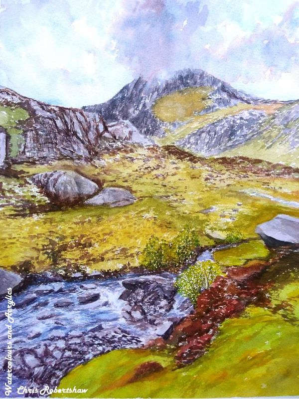Storm over Tryfan, Snowdonia