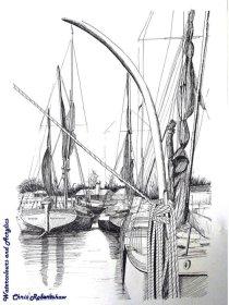 Thames Barges, Maldon