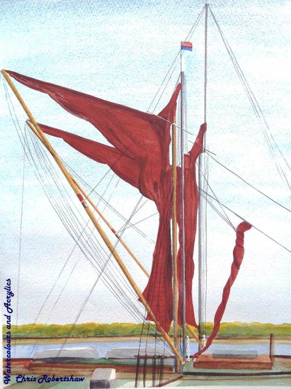 Sails, Sheets and Spars at Maldon