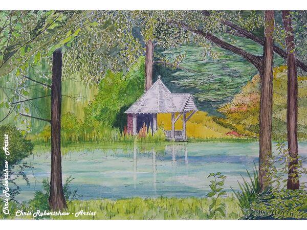 The Boathouse, Bodnant Gardens