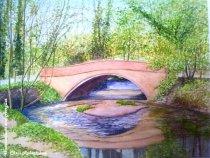 The Bollin at Twinnies Bridge