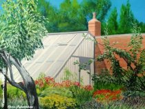 The Greenhouse, Quarry Bank Mill (Acrylic)