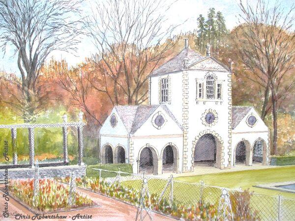 The Pin Mill, Bodnant Garden