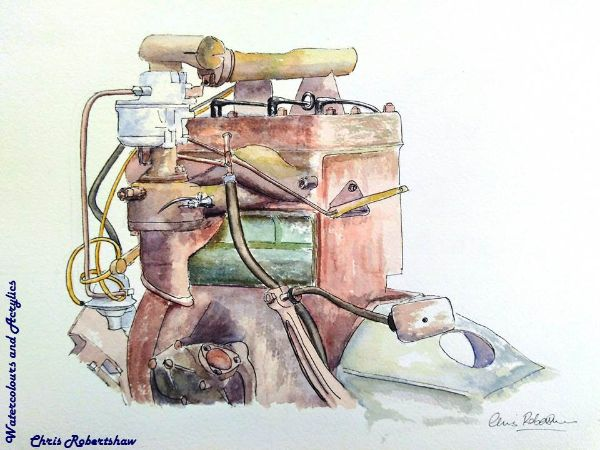 WW2 Jeep Engine