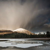 Approaching storm Loch Cill Chriosd