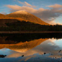 Beinn na Caillich cloud reflection