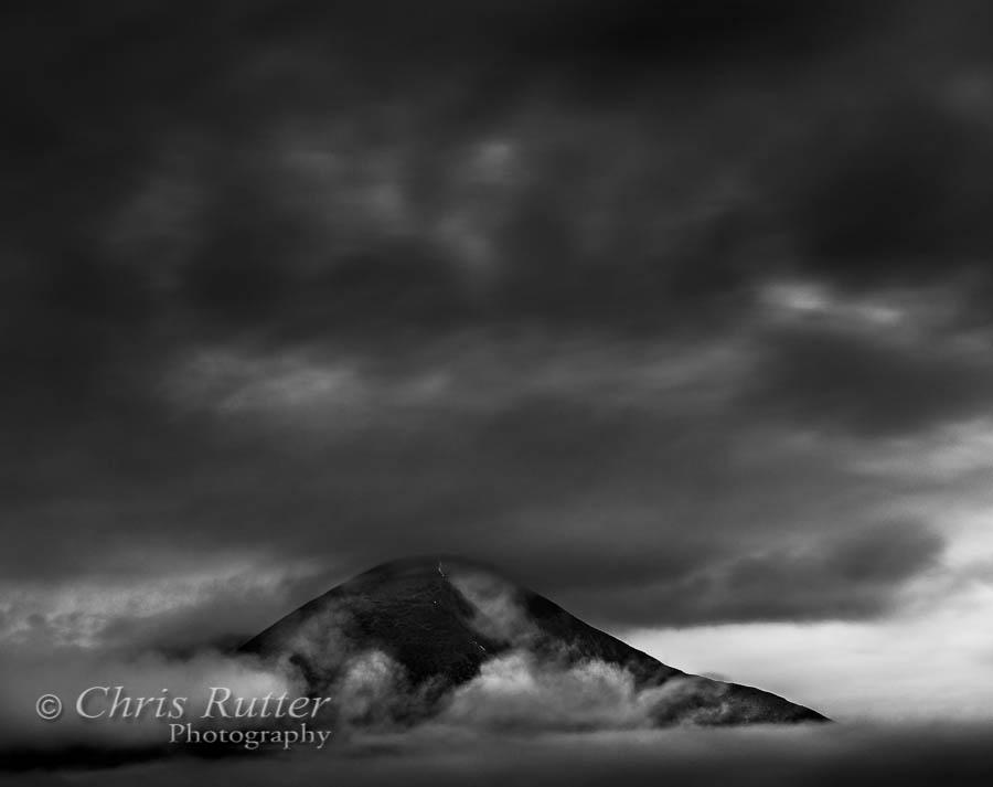 Clouds Beinn na Caillich