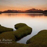 Cuillin from Ord sunrise