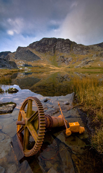 Derelict slate mine, near Tanygrisiau
