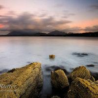 Dawn from Tarskavaig Skye