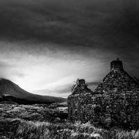 Derelict farmhouse Suardal Skye