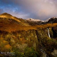 Eas Mor waterfall Cuillins