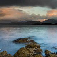 First light over the Cuillin