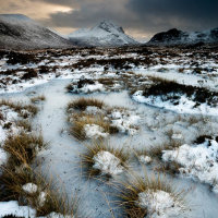 Ice and snow Cuillins