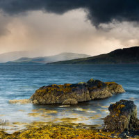 Incoming storm Ord Skye