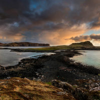 Isle of Oronsay Panorama
