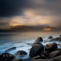 Last light Elgol