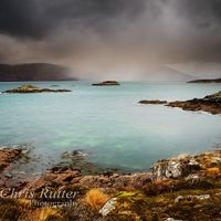 Loch Kishorn rain shower