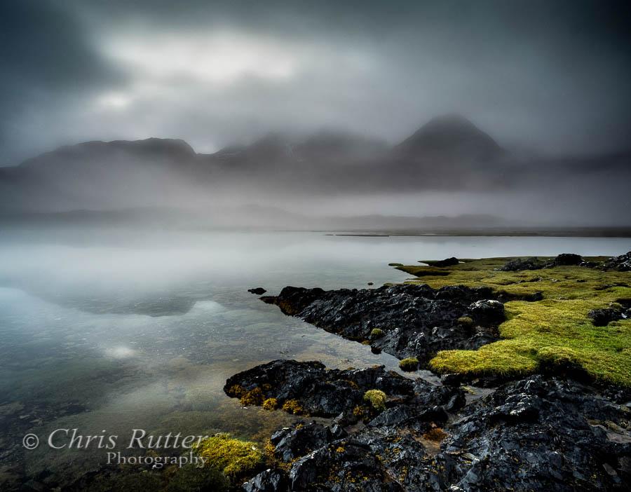 Misty Cuillin from Loch Slapin