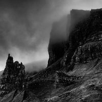 Old Man of Storr cloud