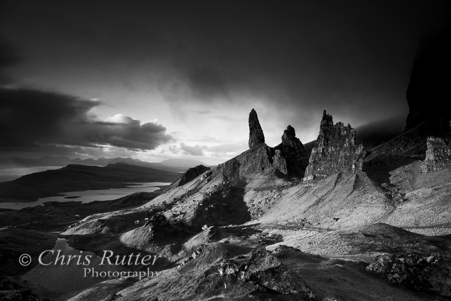 Old Man of Storr mono