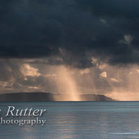 Rainstorm over Eigg