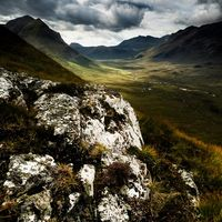 Rock above Glen Sligachan