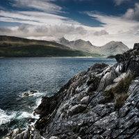 Rock texture Loch Slapin