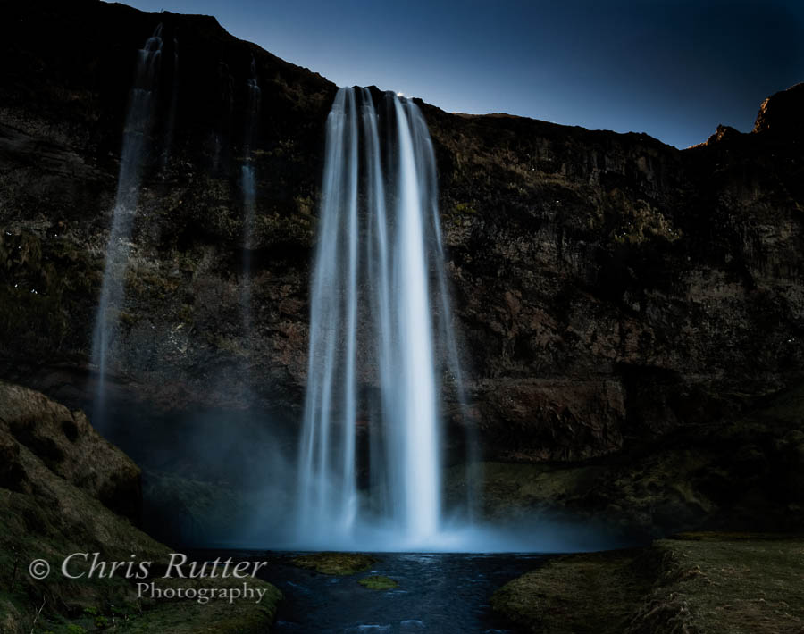 Seljalandsfoss first light