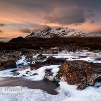 Sligachan icy dawn