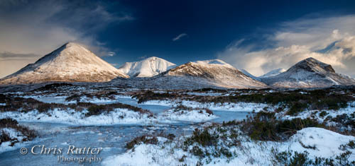 Sligachan in the snow