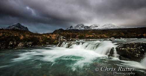 Sligachan waterfall
