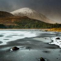Snowstorm Loch Cill Chriosd