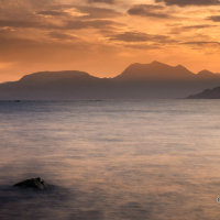 Sound of Sleat first light