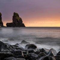 Talisker Bay Skye sunset